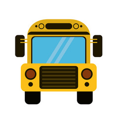 school bus transport design vector image