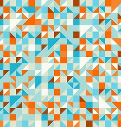 Turquoise Green and Blue pattern vector image vector image