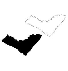 alagoas map vector image