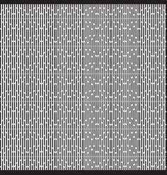 Black and white geometric graphic pattern vector