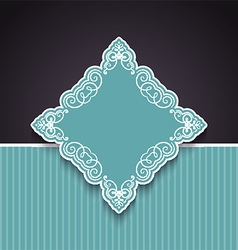 decorative background 1803 vector image