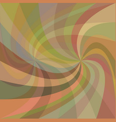 Double swirl background - design from rotated rays vector