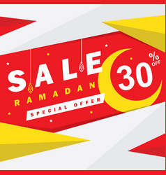 flyer sale discount greeting card label or banner vector image