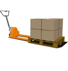 Forklift 002 vector