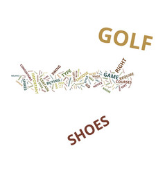 Golf shoes and how they can improve your golf vector