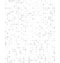 pattern with grey dots vector image