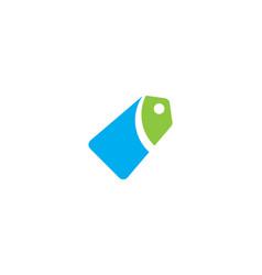 price tag icon vector image