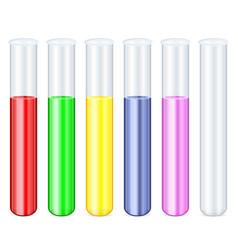Test tube set vector