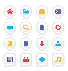 Web Icons 2 vector image vector image