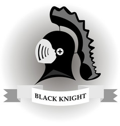 black knight vector image