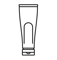 Conditioner creme tube icon outline style vector