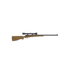 firearm optic gun barreled ranged weapon isolated vector image