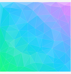 flat multicolor gradient triangle geometric vector image