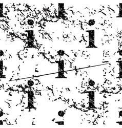 Information pattern grunge monochrome vector