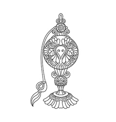 perfume bottle vector image