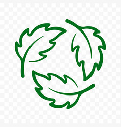 biodegradable recyclable icon plastic free label vector image