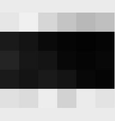 black color abstract squares background banner vector image