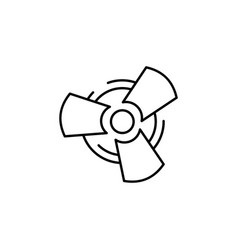 Fan car icon can be used for web logo mobile app vector