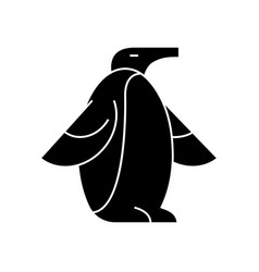 penguin icon sign o vector image