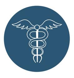 Pharmacy symbol isolated icon vector