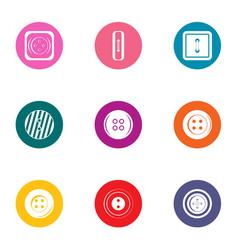 Prepare icons set flat style vector
