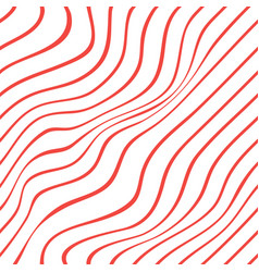 red white diagonal stripe pattern background vector image