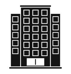 Skyscraper icon simple style vector