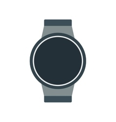 smart watch modern wearable technology vector image