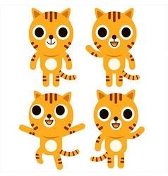 Tiger Cute vector image vector image