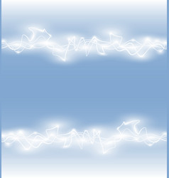 Abstract smooth glow light wave vector