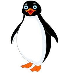Penguin vector image vector image