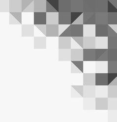 Light grey geometric background vector image vector image