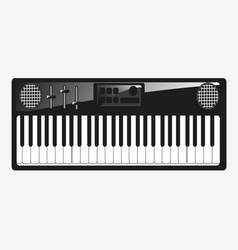 Music instrument synthesizer vector