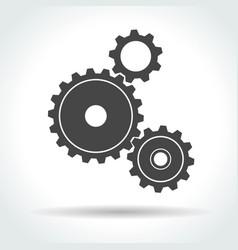 gear and cogwheel vector image