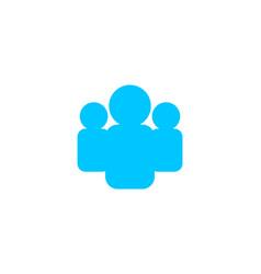 human resource concept logo vector image