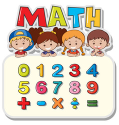 Math Kid Vector Images (over 3,900)