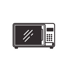 microwave household appliance vector image