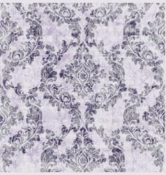 vintage damask flourish ornamented pattern vector image