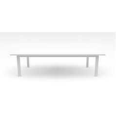 white table template with realistic shadow 3d vector image