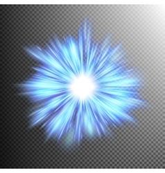 Beautiful rays of light burst EPS 10 vector image vector image