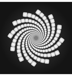 Abstract Spiral Background Cover Template vector image