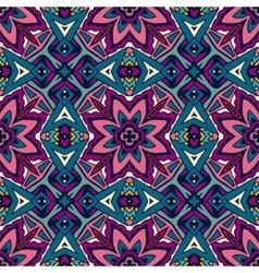 seamless ethnic tribal indianl Geometric print vector image