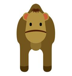 cute camel icon vector image