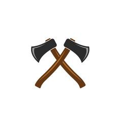 Axe icon design template vector