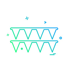 Bounty icon design vector