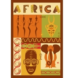 Conceptual ethnic vector image
