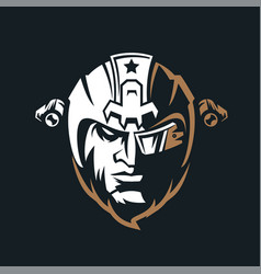 Elite army vintage logo vector