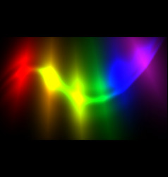 Lgbt flag background glowing abstract blurred vector
