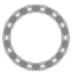 Reto Round Frame vector