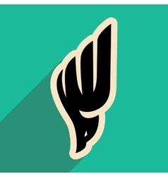 Soaring eagle logo vector
